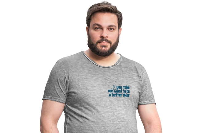 Men's Ski T-shirt - Better Skier