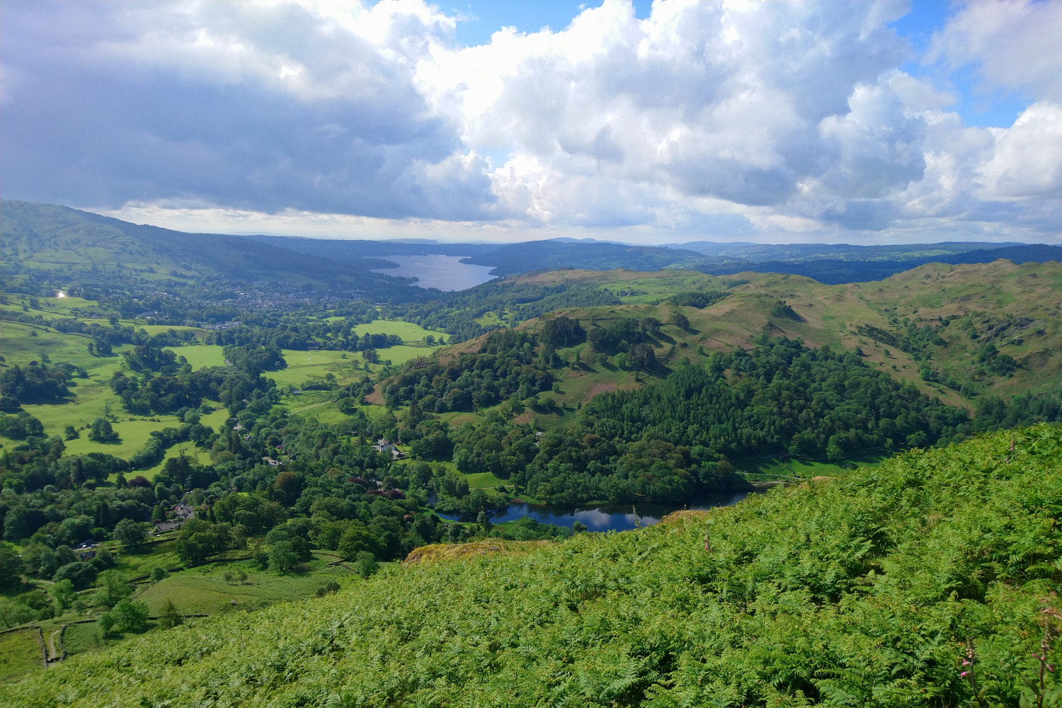 All seasons in one day in the English Lake District
