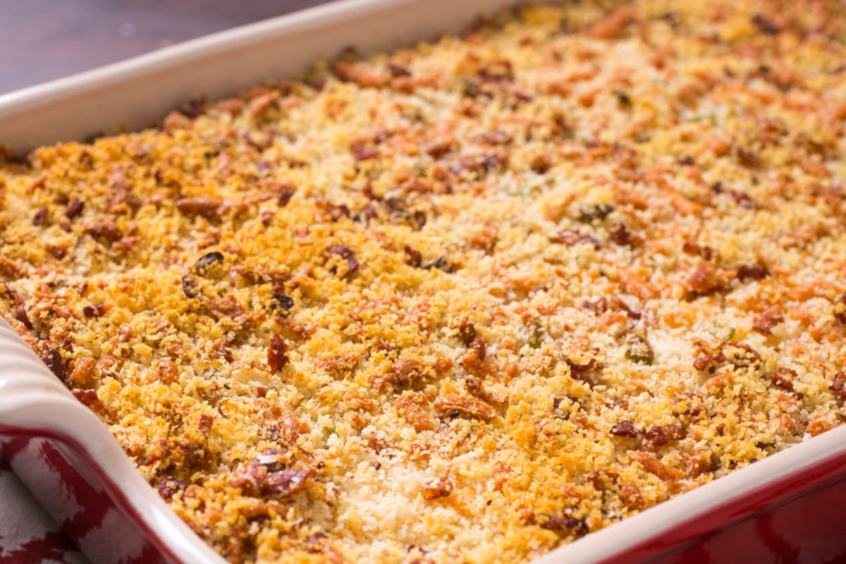 Savoury Crumble from Carrot to Parsnip