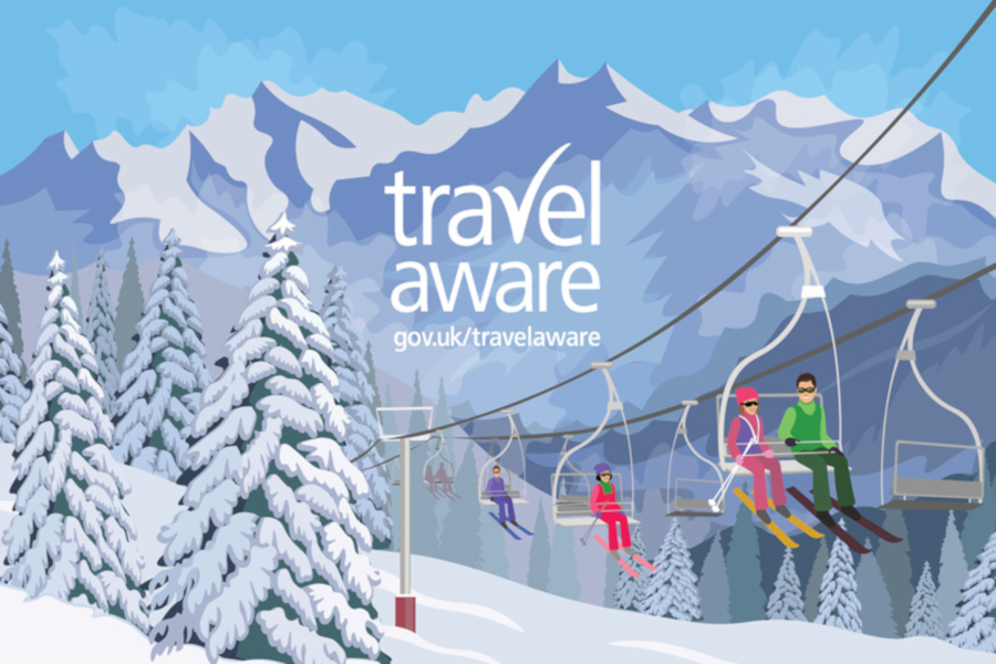 UK Government advice for Skiing Holiday